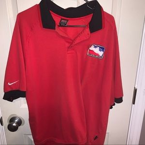 Nike Indy Racing League vintage XL polo made in US